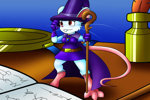 Commission: Runic Rodent - A Magical Breakthrough