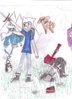 Adventure time by cronaman3196