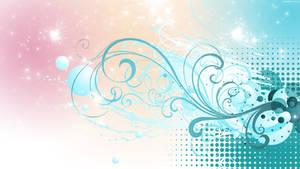 HD PastelFlourish Wallpaper