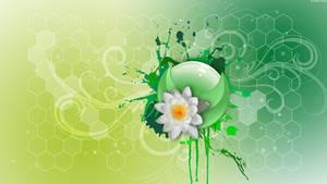 HD Floral Honeycomb