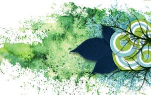 Blue Leaf by StarwaltDesign