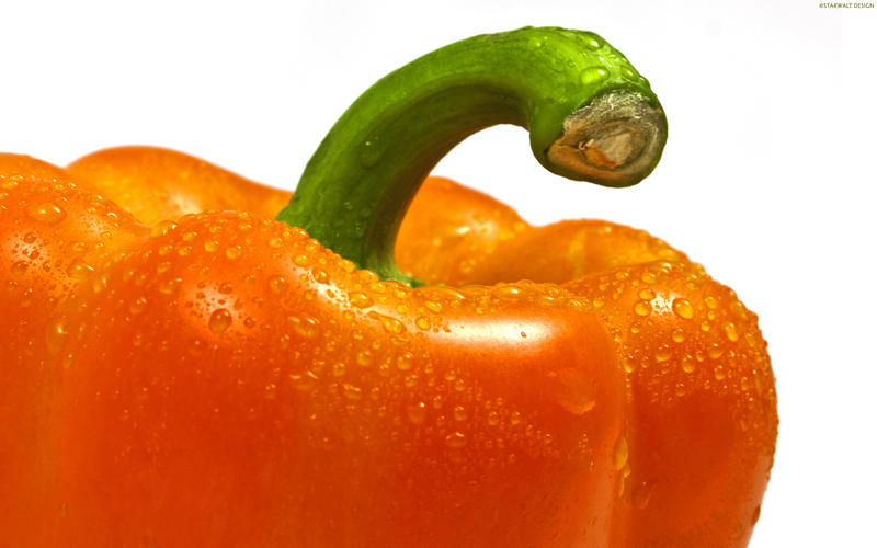 Orange Pepper by StarwaltDesign