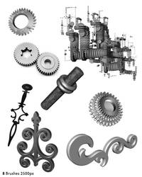 Steampunk 3DBrushes