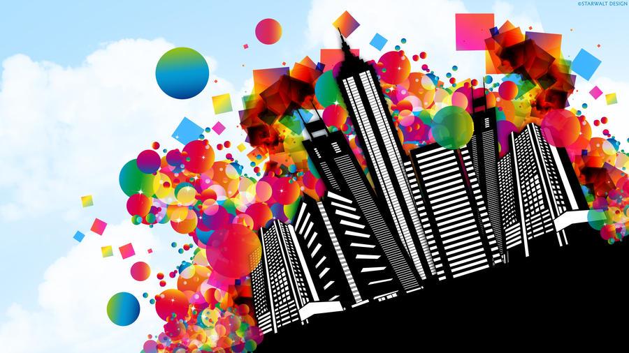 Vector City by StarwaltDesign