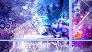 Lavender Blue Collage by StarwaltDesign