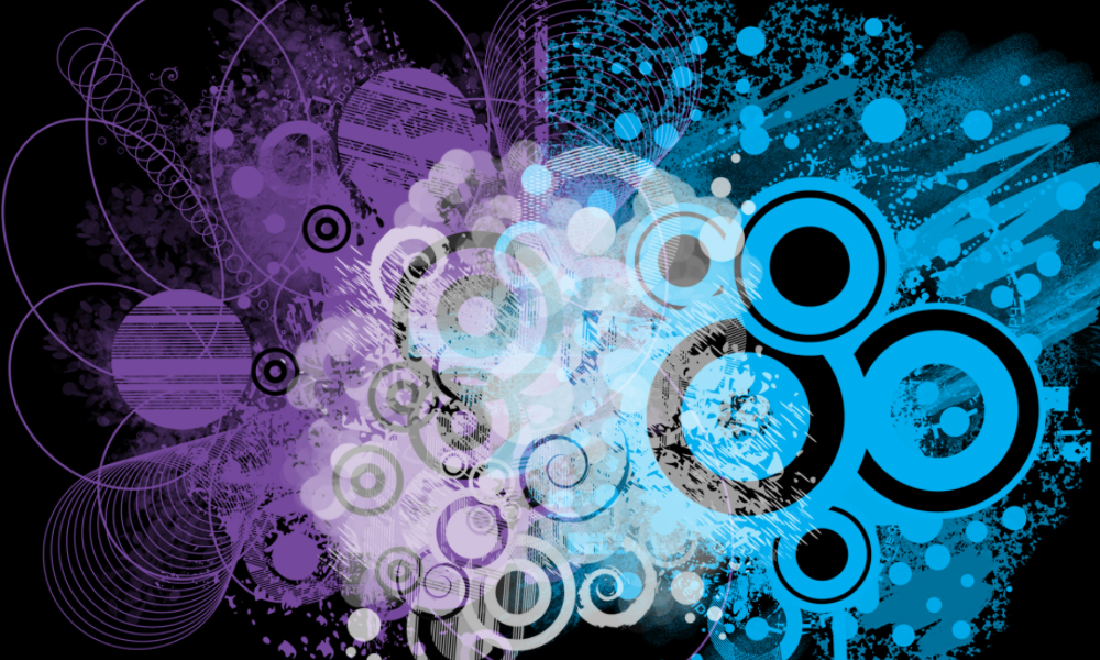 Grunge Collage Brushes by StarwaltDesign