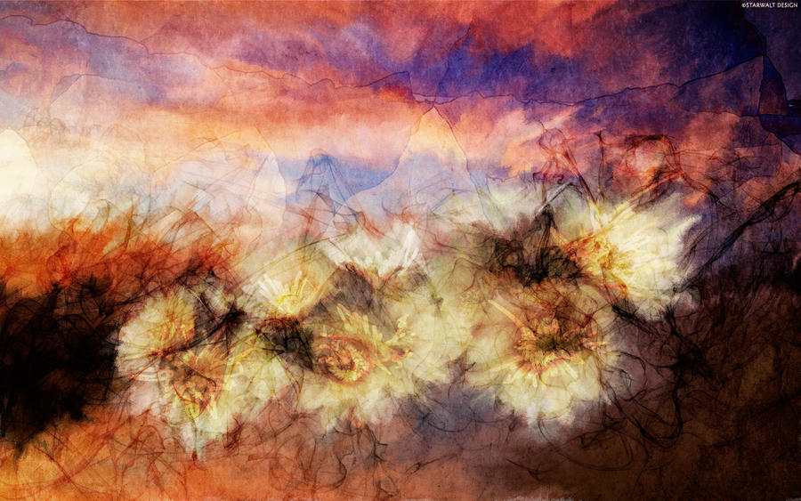 Flowers in the Valley by StarwaltDesign