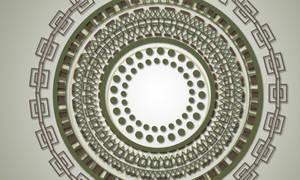Mayan Circle Brushes