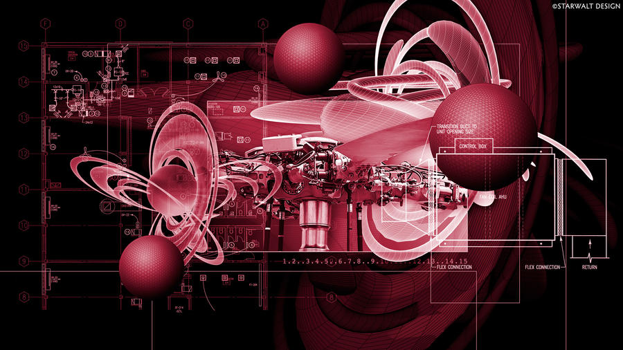 Mechanical Art in Movement by StarwaltDesign