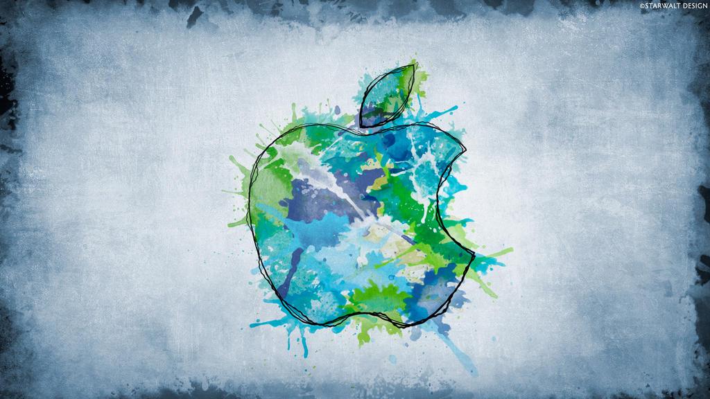 Apple Watercolors by StarwaltDesign