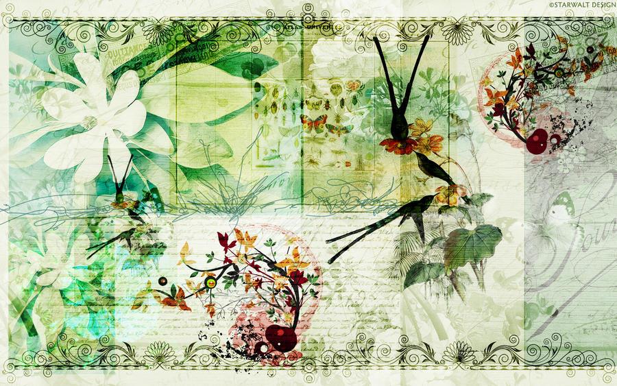 Graceful in Green by StarwaltDesign