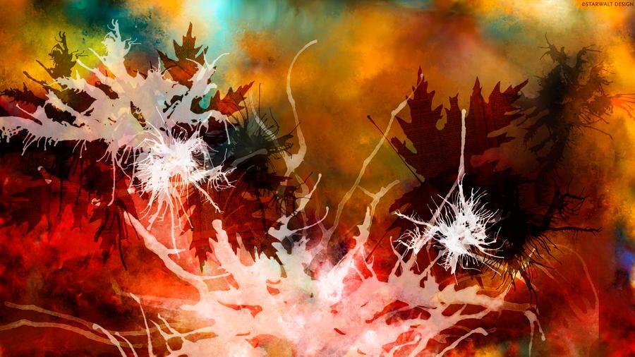 Autumn in Abstract by StarwaltDesign