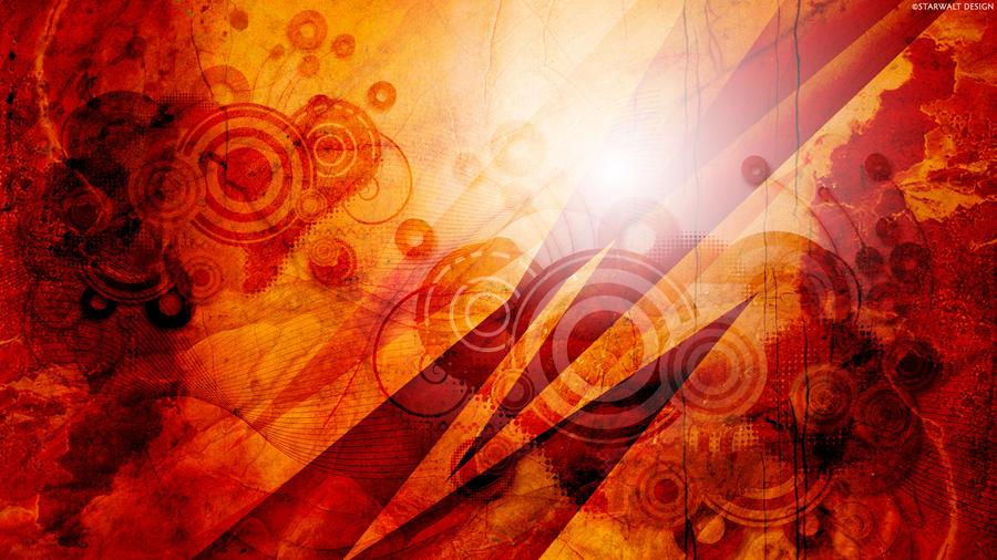 Sunrise in Grunge by StarwaltDesign