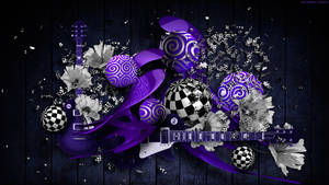 Musical Performance in Purple
