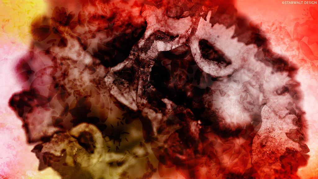 Black Walnut in Abstract by StarwaltDesign