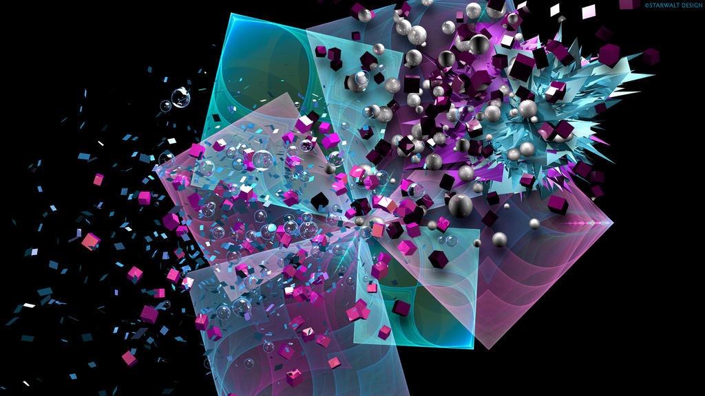 Shattered Pinwheel by StarwaltDesign