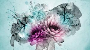 Floral Water Dreams by StarwaltDesign
