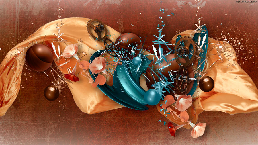 Brass and Satin by StarwaltDesign