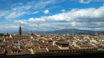 A Beautiful day in Florence by StarwaltDesign
