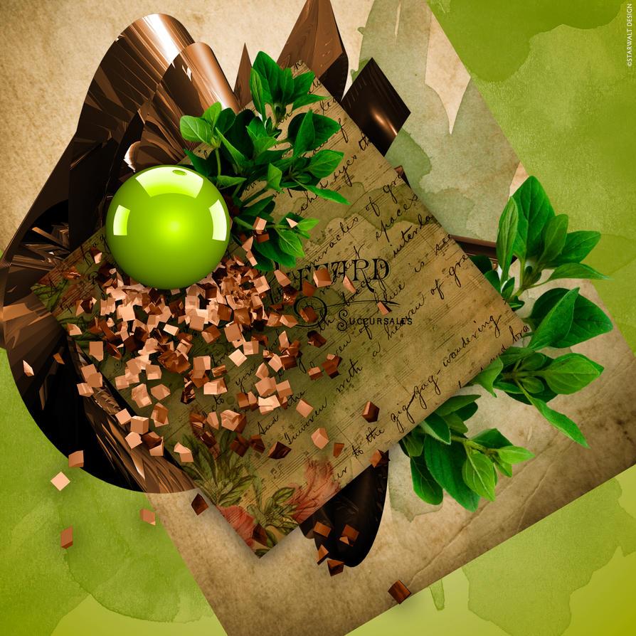 Green Rearranged by StarwaltDesign