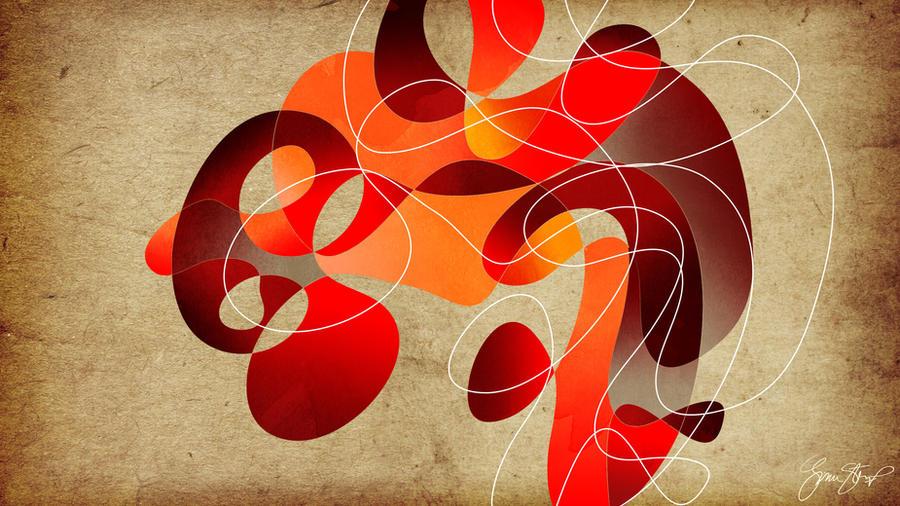 Conversation in Red by StarwaltDesign