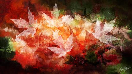 Leaf Chiaroscuro by StarwaltDesign