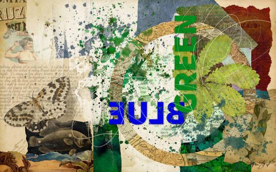 Blue Green Vintage