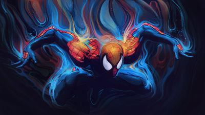 [SMUDGE] Spidey by LimeWub
