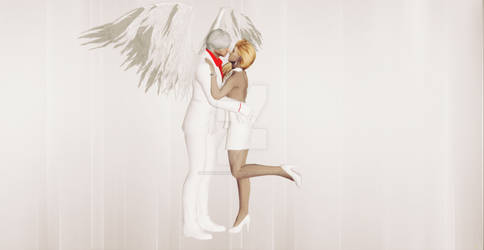 White Angel Dante and Trish