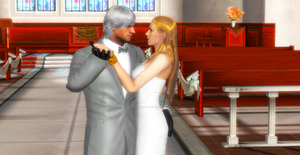 Happy wedding to Dante and Trish