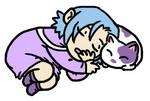 Janus and Alfador Sleepy Time