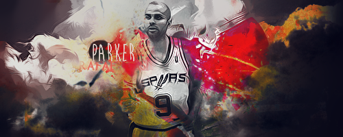 Tony Parker by KiiRn13