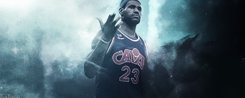 LeBron James - Heaven from hell by KiiRn13