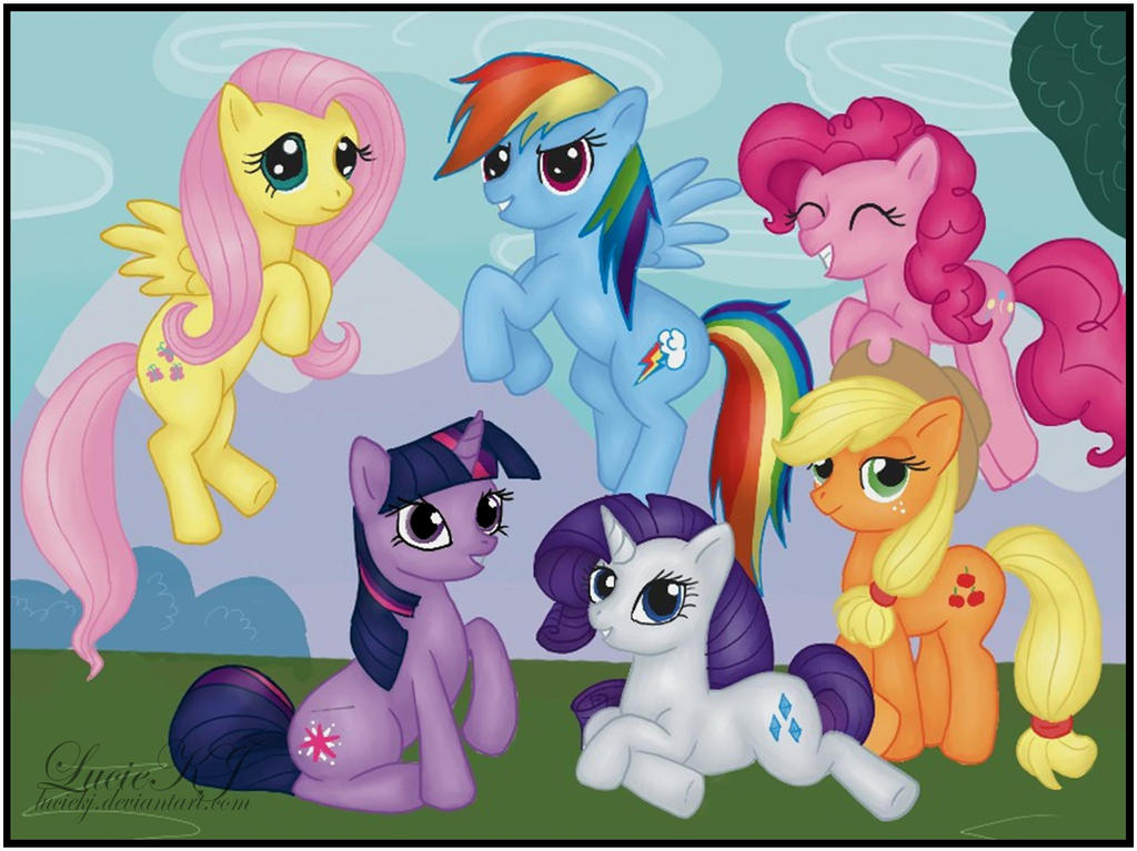 My Little Pony by LucieKJ