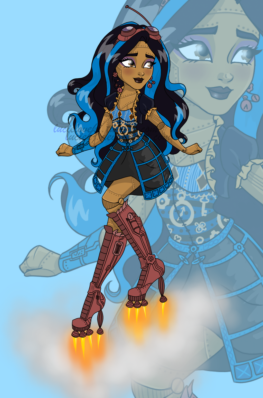 Robecca steam by luciekj on deviantart - Monster high robecca steam ...