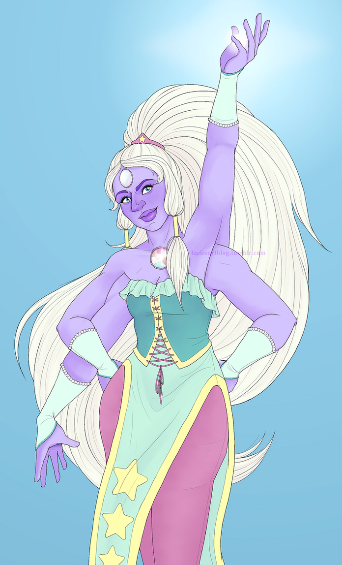 """All you wanna do Is see me turn into..."" Opal from Steven Universe! This is the last thing I drew, meaning my DA is all up to date! The spam is over! You might not see anything new from me f..."