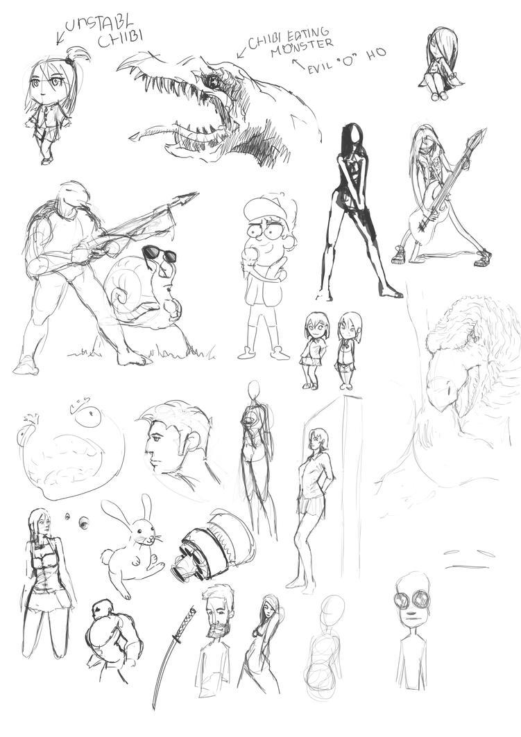 Sketchs8 by Ryv3x