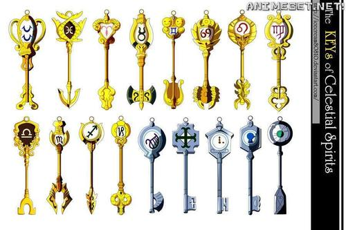 Lucy Fairy Tail Keys Fairy tail luc... lucy fairy tail keys