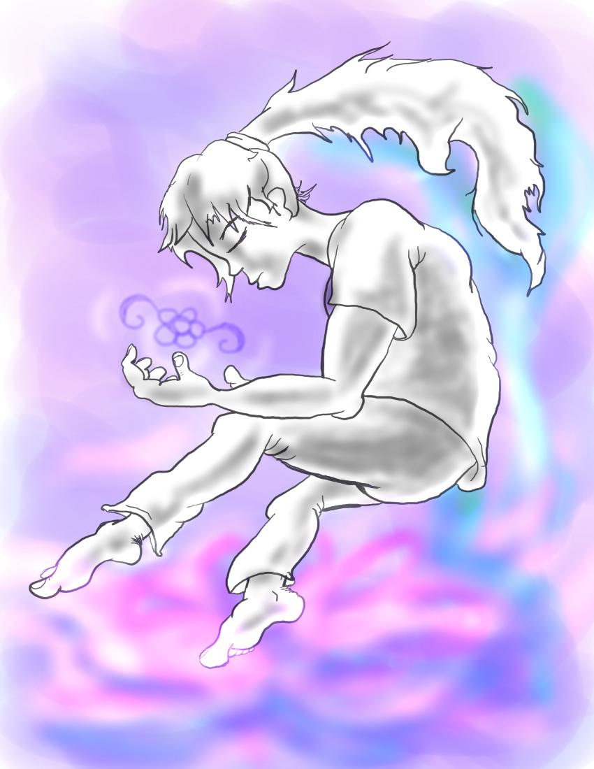 Flower Spirit by BlazingFire909