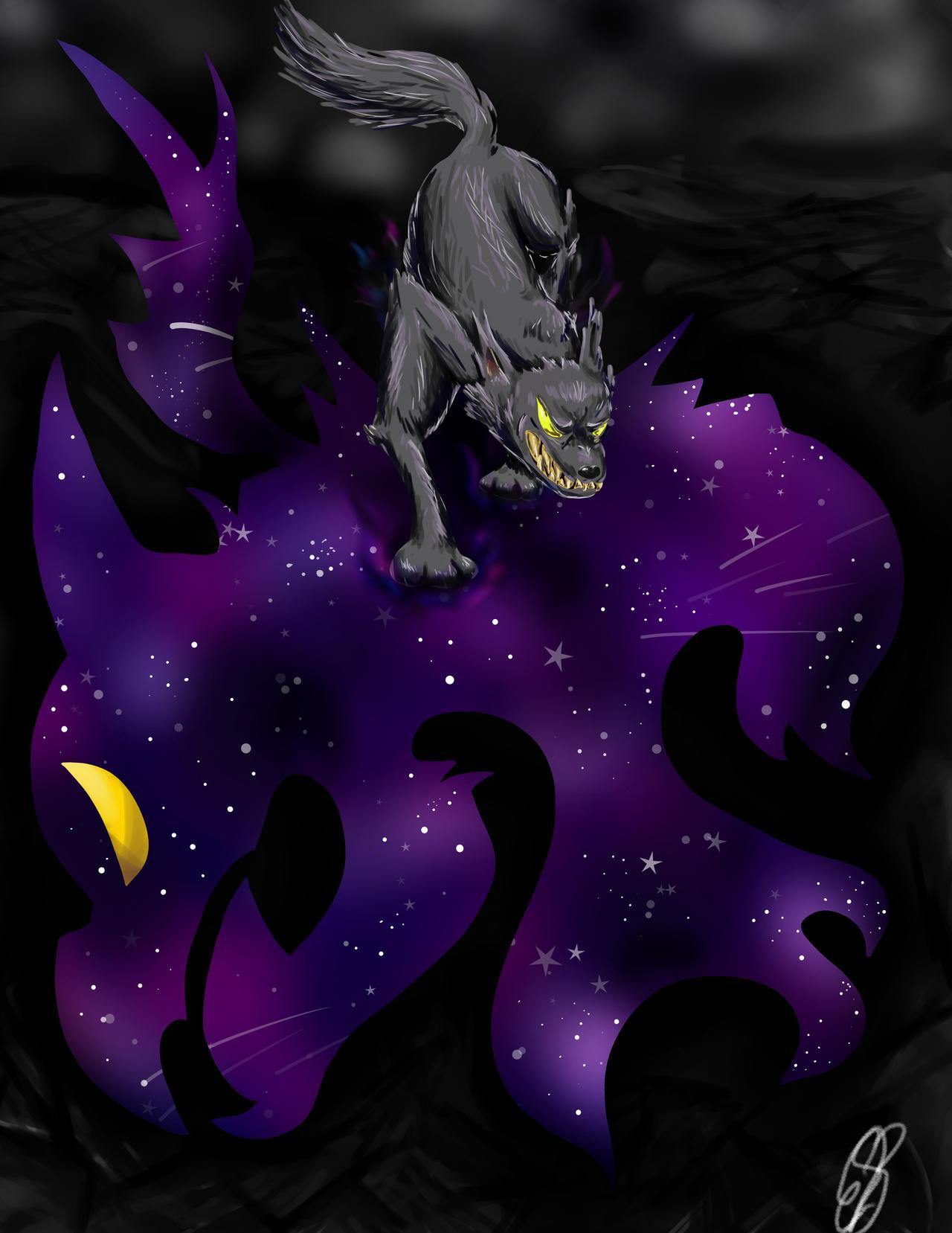 Dark Wolf by BlazingFire909