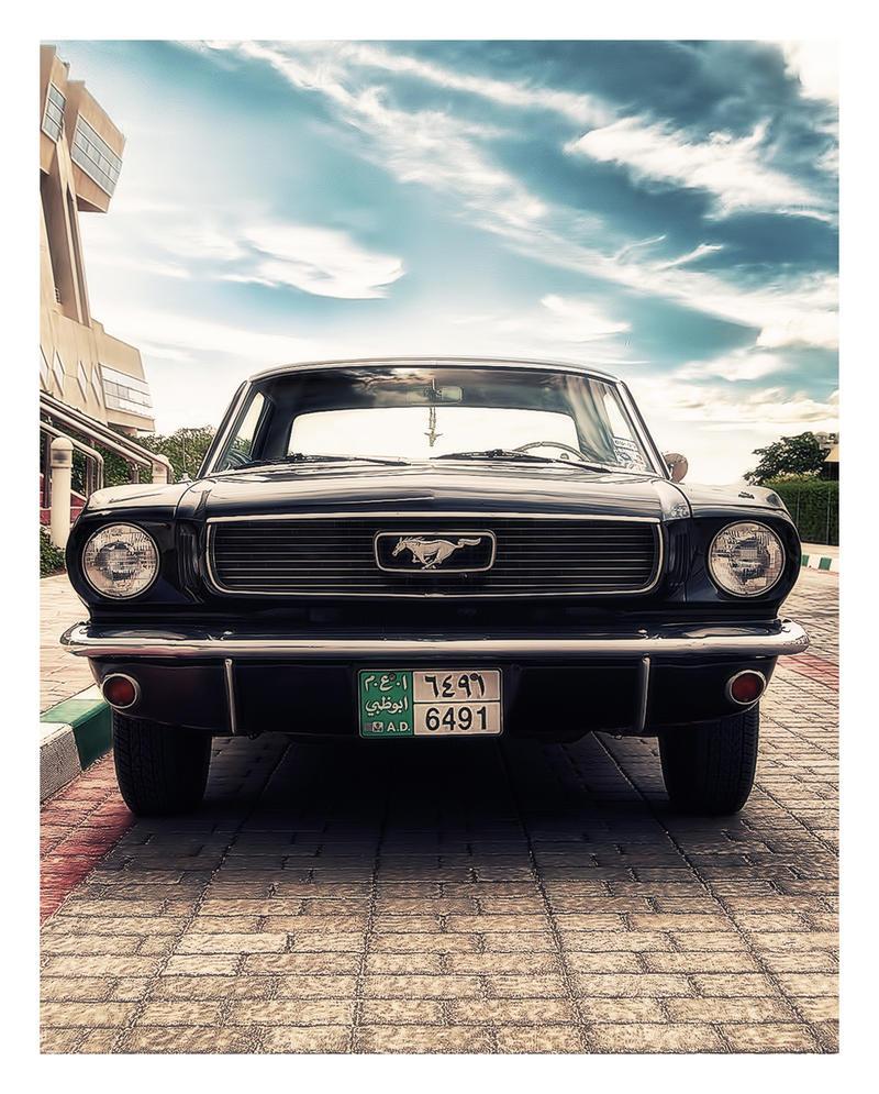 66' Mustang by speedrahul
