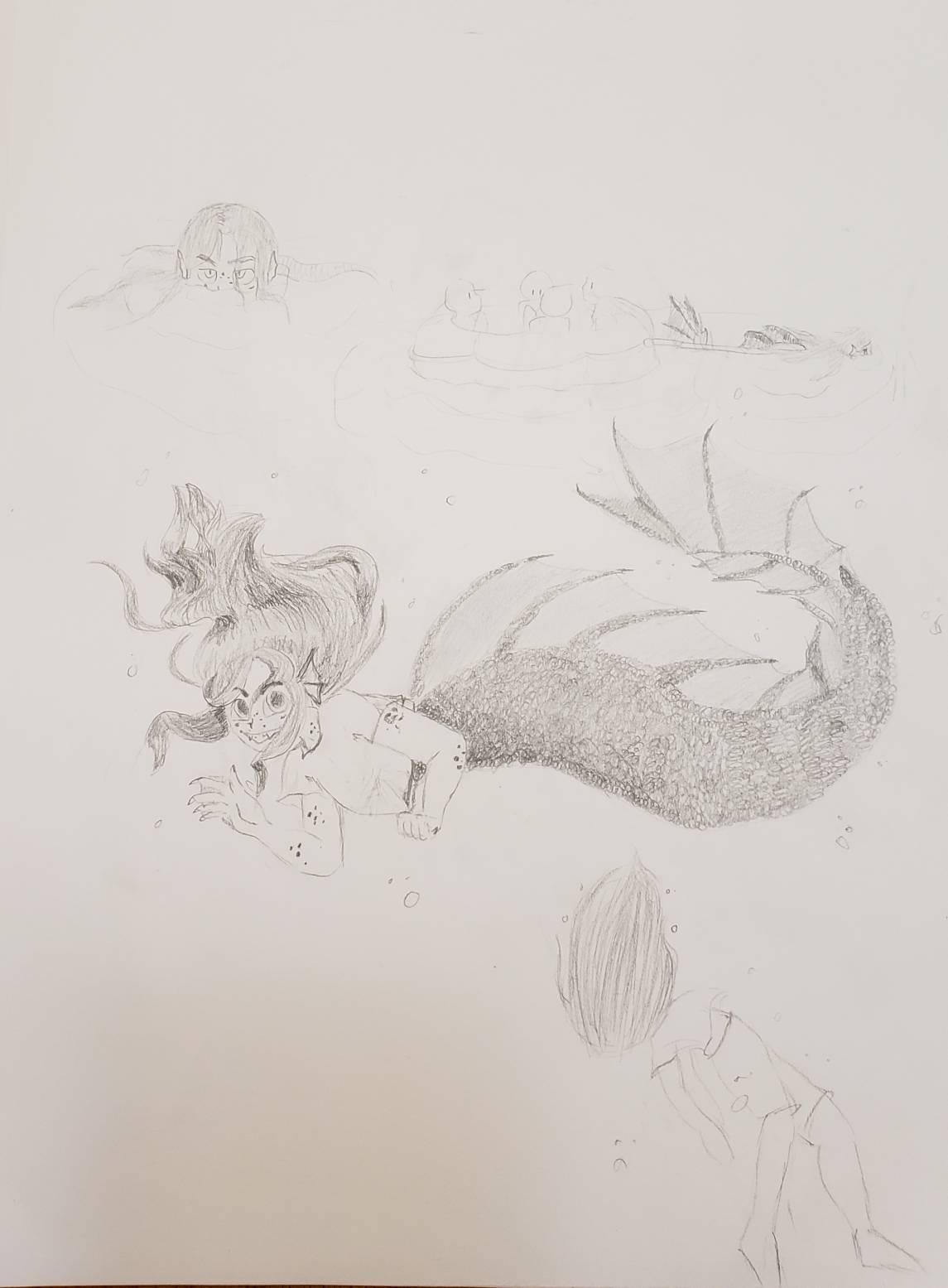 Siren Dream Doodles