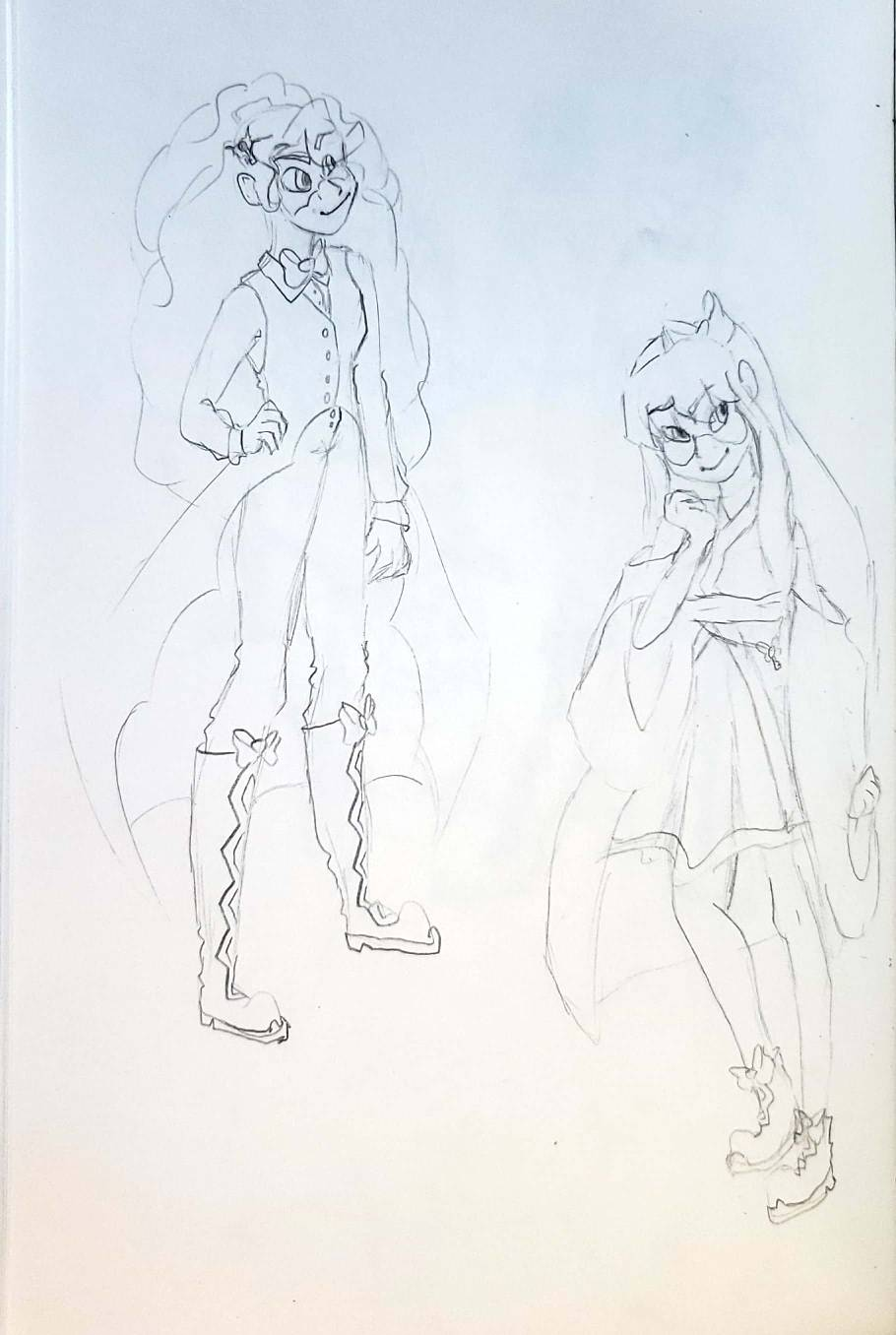 Magical Girl Concept Art