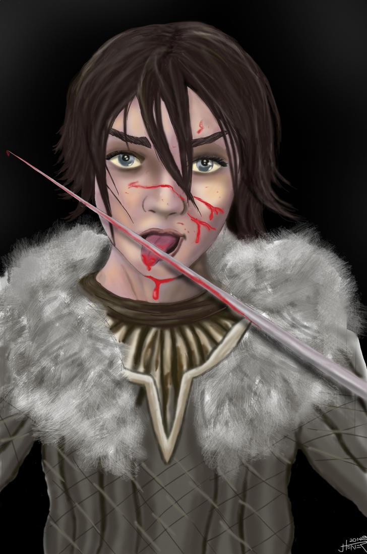 Arya and the Needle by JaredTheHet