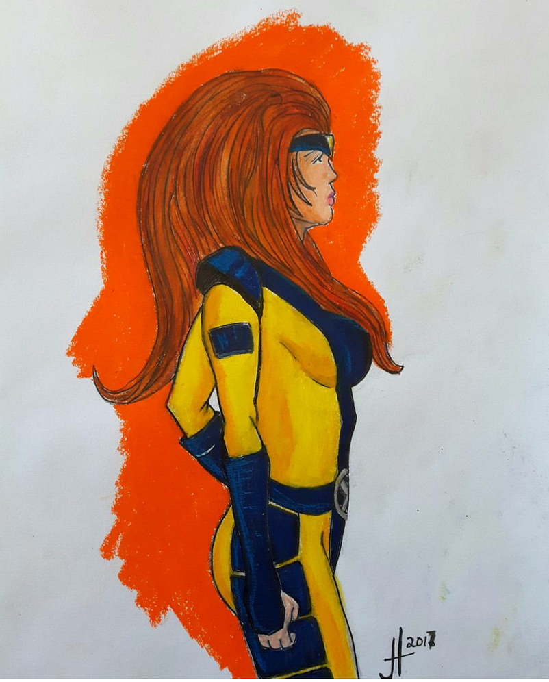 Jean Grey by JaredTheHet