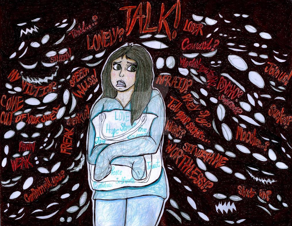Social Phobia by Shark-Demon