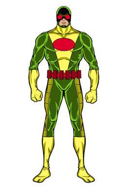 HeroMachine 3: Superhero- Red Eye