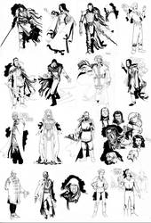 Wheel Of Time Character Design by ChaseConley