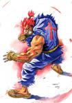 Gouki Watercolor 1