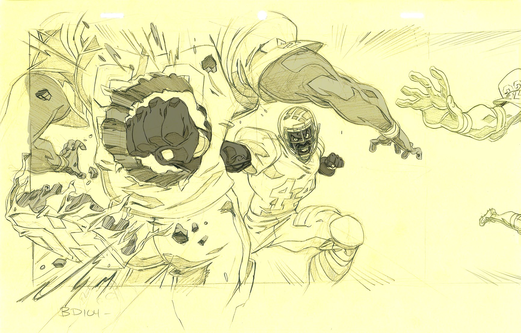 Black Dynamite: It was just a game 2 rough by ChaseConley